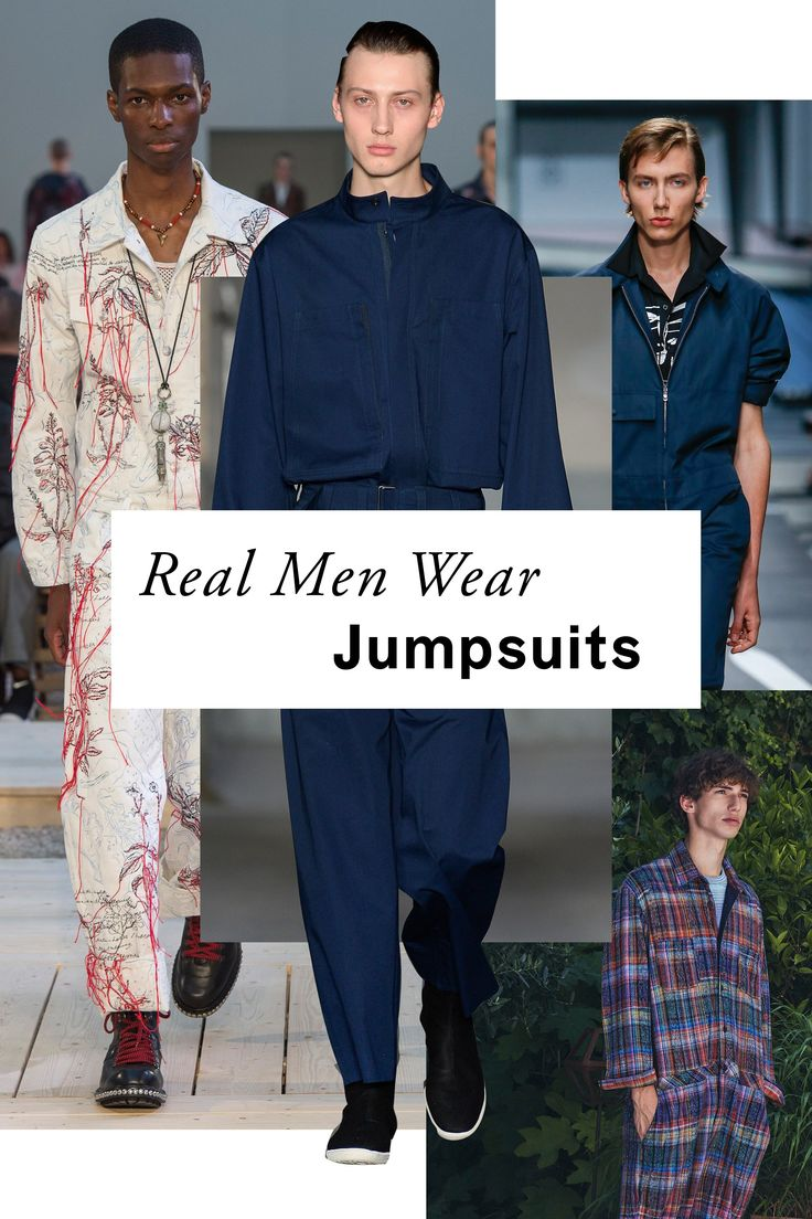 """The highly divisive men's romper (also known as the """"RompHim"""") has been making headlines this summer, but there's no denying the appeal of a guy in a jumpsuit. Prada, Boss, and Ralph Lauren had practical, no-fuss options for shorts-averse men."""
