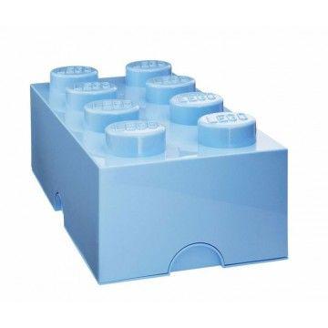 Boîte rangement Lego 8 plots