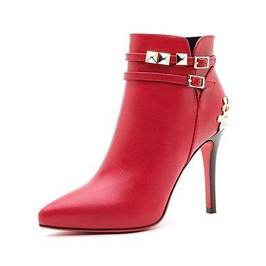 chaussures pour femmes moolecole Bottes talon aiguille bottines plus de couleurs disponibles – EUR € 51.57