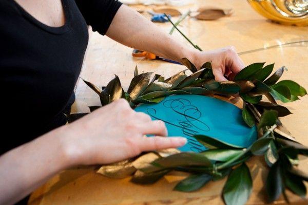 DIY tutorial for the cutest wreaths
