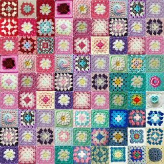 Another #virtualgrannysquareblanket