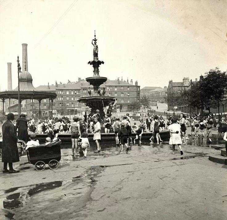 Phoenix Park In The Cowcaddens 1930