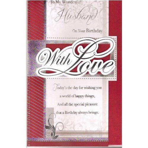 Birthday Cards For Husband Amazon Co Uk: 1000+ Images About Happy Birthday Husband On Pinterest