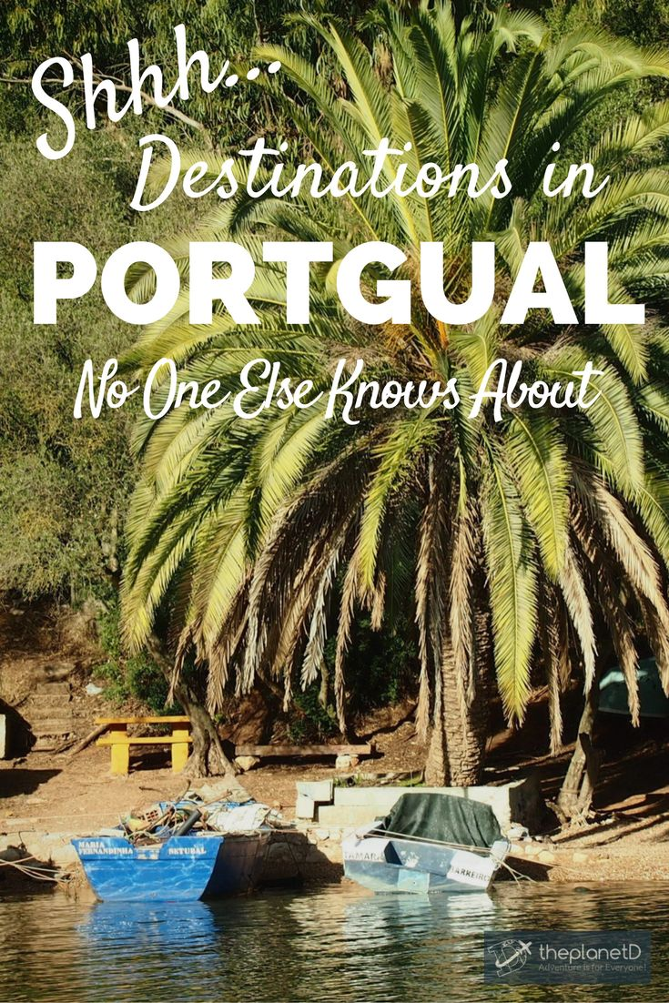 Tips for getting off the beaten path in Portugal including destinations with pristine beaches, quiet fishing villages, scenic waterfalls, and hidden islands. Discover a side to Portugal that no ones else knows about! Travel in Europe.   Blog by The Planet