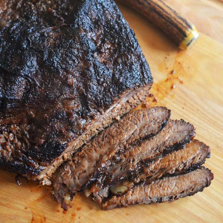 This gigantic brisket from Andrew Zimmern is tender and meaty, with lots of delicious bites of sweet, caramelized fennel alongside.