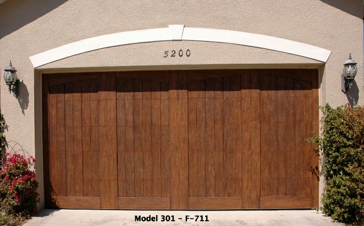 9 best garage doors images on pinterest wood garage for Faux wood garage doors prices