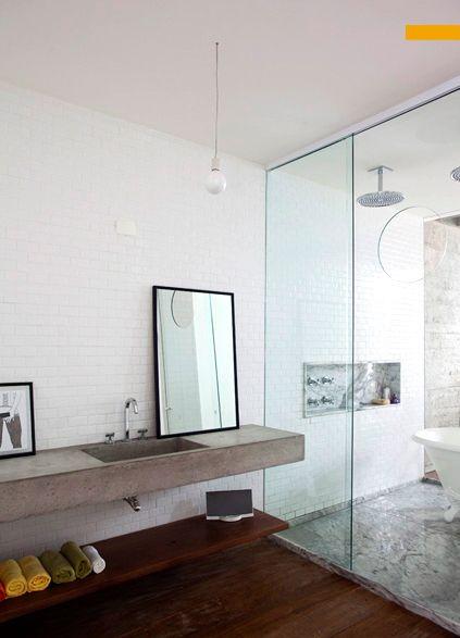 131 melhores imagens sobre arq h2c ck no pinterest for Interior design wet rooms