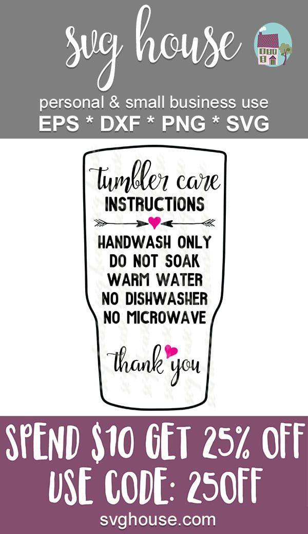 33+ Tumbler care card svg inspirations