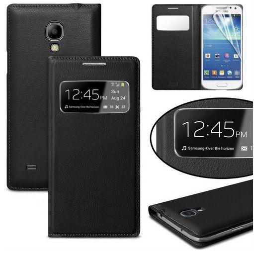 S View Flip Case Cover Θήκη OEM - Μαυρο (Galaxy S4 mini) - myThiki.gr - Θήκες Κινητών-Αξεσουάρ για Smartphones και Tablets - S View Μαύρο - Galaxy S4 mini