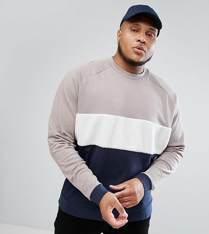 DESIGN oversized t-shirt with roll sleeve and bright colour block - White Asos Cheapest Price For Sale DkbmG4