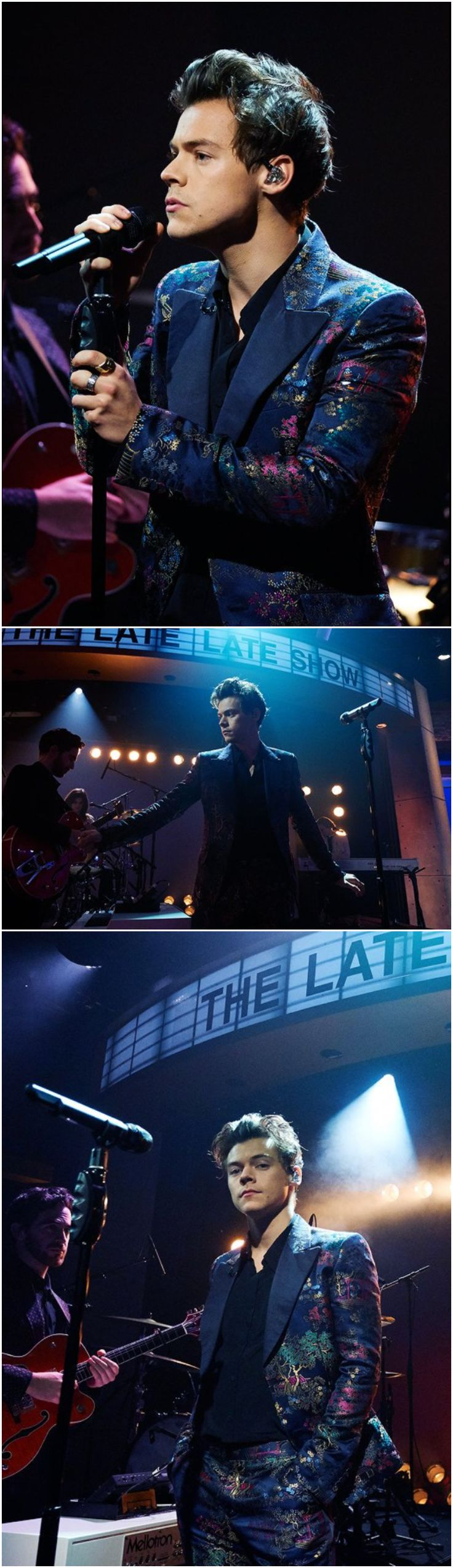 NEW | Harry Performing Sign of the Times on The Late Late Show with James Corden. Follow rickysturn/harry-styles
