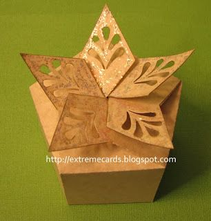Twist Top Star Box - download the pattern for a DIY