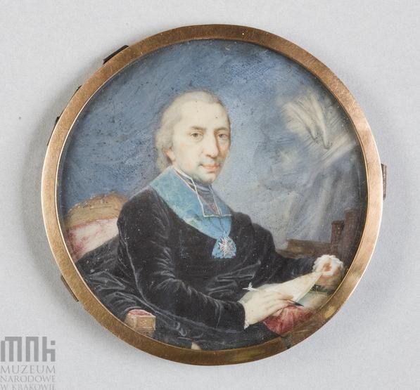 Polish School, Portrait of  Adam Naruszewicz,  1795 Krakow, National Museum