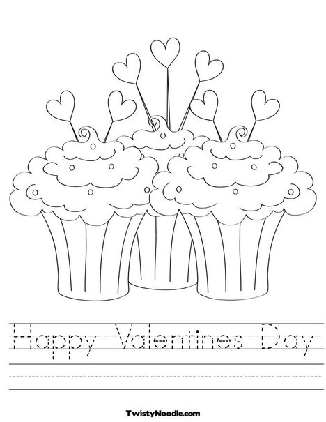 Worksheets Valentines Day Worksheet i was able to change the font on this from print cursive fun cursive
