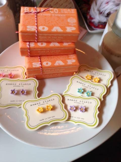 Spring Earrings!  www.fleurtseattle.com