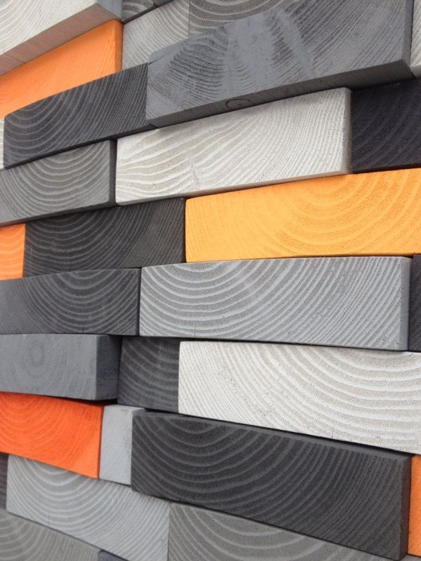 Abstract Wall Art   Reclaimed Wood Wall Sculpture   Wall Mosaic