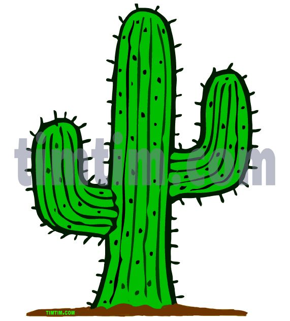 cactus drawings | ... coloring & free online drawing tool & free ...