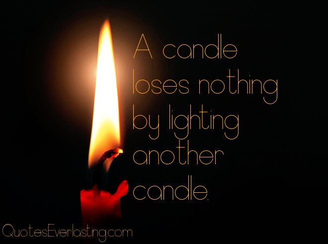 Image result for candle in darkness quote