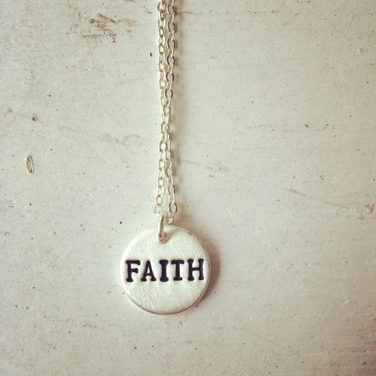 Faith neclace  www.ellja.no