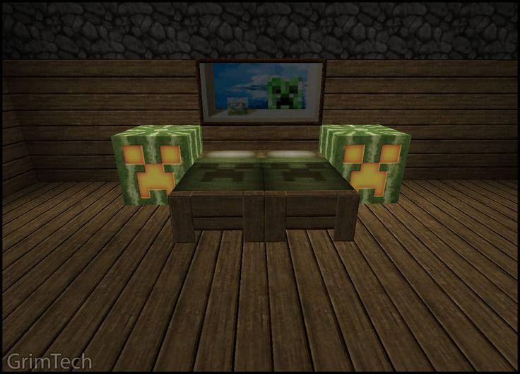 minecraft bedroom | Minecraft: Bedroom Set by PatrickJr on deviantART - 17 Best Minecraft Images On Pinterest