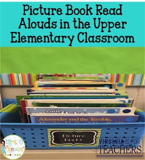 Picture books are for more than primary.  Rachel shows how you can use them comprehension strategies, vocabulary, and writing.