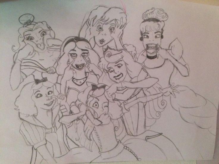 #selfmade💜 #princesses