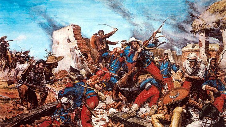 1863 Acciòn de Cameron, México. Aniversario de La Legión Extranjera Francesa 1863