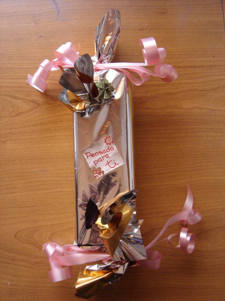 Otro de nuestros embalados para regalo