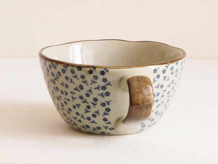 Porcelain Cup - Floral