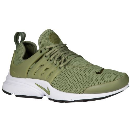 Nike Air Presto - Women's - Olive Green / White