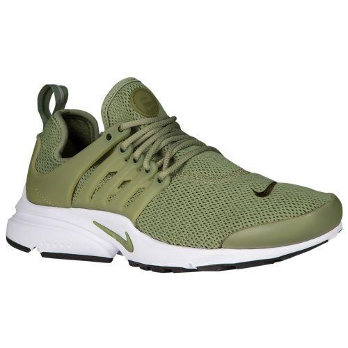 Nike Air Presto - Women's - Olive Green / White