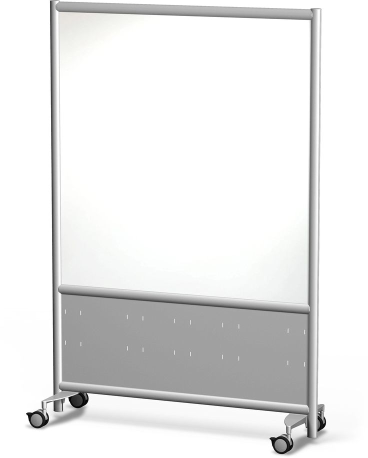 Frontage Mobile Whiteboard from Merge Works - Our Frontage Mobile Whiteboard on Wheels is economical, practical and doubles as a privacy office partition and cubicle door.