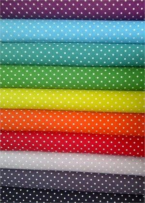 FabricWorm: Dots Dots Dots! Enter to win a sampler bundle from Momo!