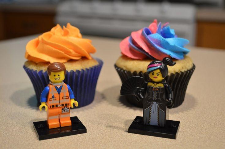 LEGO movie cupcakes!