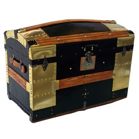 "I spy a Randall Barbera original, ""Pirate""! http://www.shop.randallbarbera.com/Antique-Dome-Top-Trunk-C-1870-RB0041.htm"