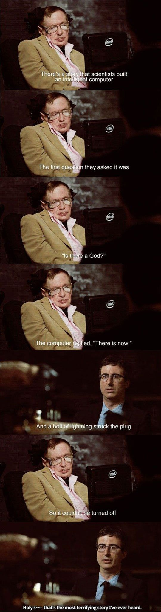 Stephen Hawking's Scariest Story