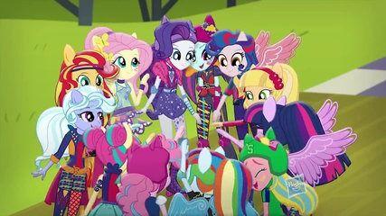 "My Little Pony Equestria Girls Latino América ""El Himno de Equestria Girls Friendship Games"" - HD"