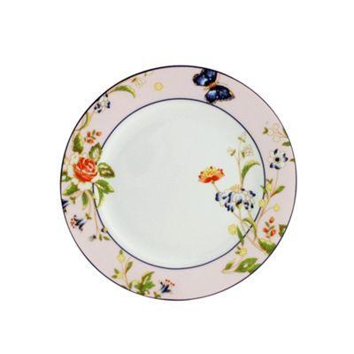 Aynsley China Cottage Garden set of 4 pink side plates- | Debenhams