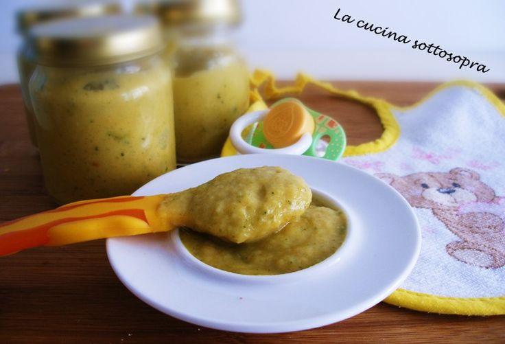 L'omogeneizzato di merluzzo e verdure Bimby è un omogeneizzato fatto in casa con il Bimby, adatto durante lo svezzamento intorno agli 8-9 mesi.