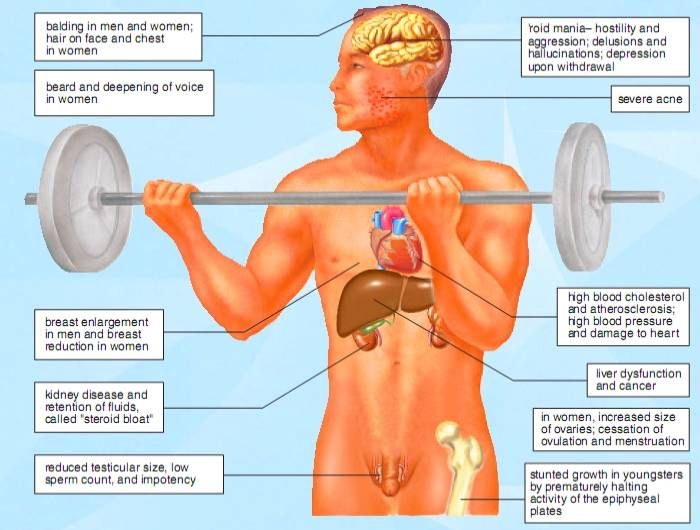 an overview of the dangers of anabolic steroids for the human body Anabolic steroids - topic overview supplements that have certain steroid hormones also made by the human body the same side effects as anabolic steroids.