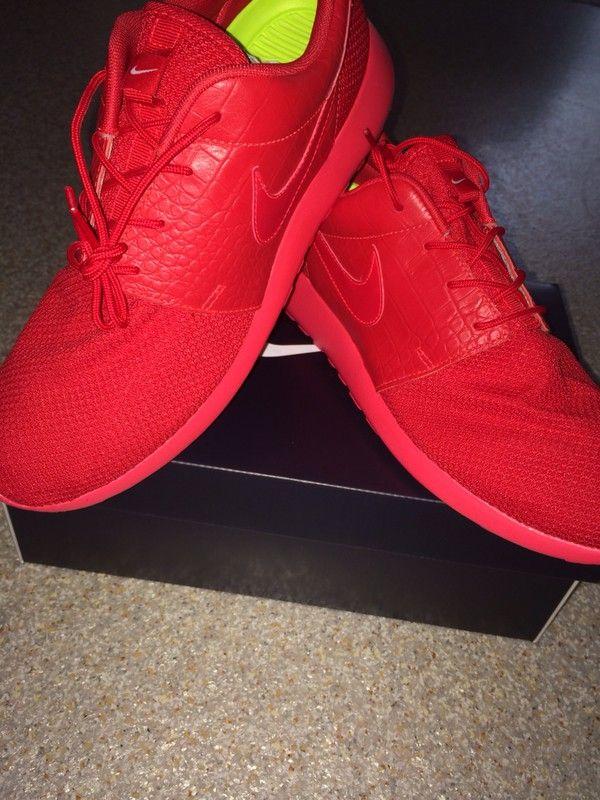 zapatillas rojo rojo nike Roshe plazo nike Roshe  plazo nike nike personalizado Identificación del nike