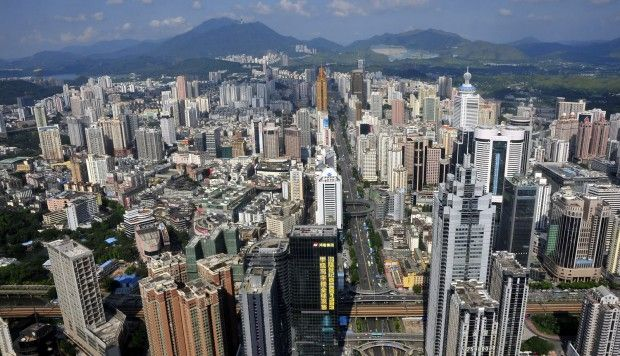 A fishing village just a few decades ago, Shenzhen is now a bustling megacity. Photos: AFP; Imaginechina; Reuters; Xinhua