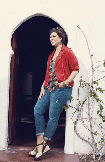Lucky Brand 'Ginger Weekender' Boyfriend Jeans (Plus Size) | Nordstrom