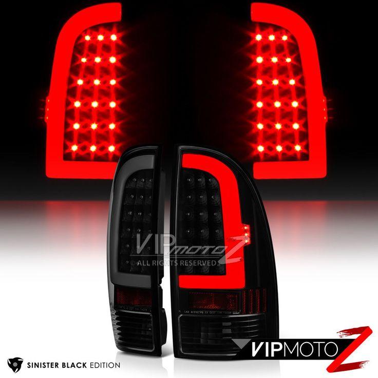 "2005-2015 Toyota Tacoma ""PLASMA OPTIC"" Neon Tube LED Tail Light PAIR [PLUG&PLAY]   eBay Motors, Parts & Accessories, Car & Truck Parts   eBay!"