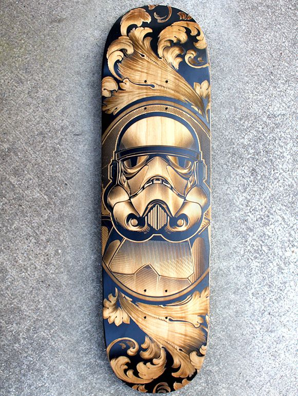 Star Wars Engraved Skateboard Series