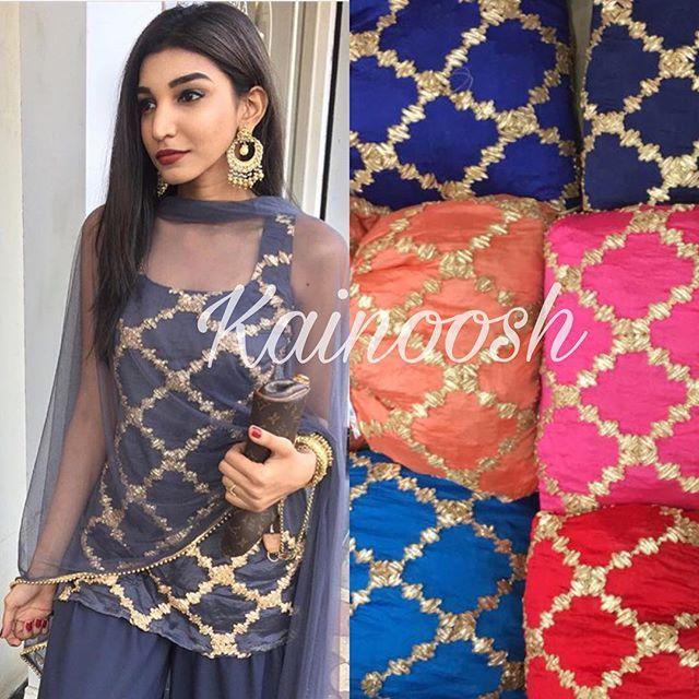 Price 3900 Fabric : Chinnon Work : Gotta Patti Suit : Semi stich Dupatta : Net fabric Bottom : Shantoon WHATSAPP +919717149068 #indianethnicwear #ethnic #fashionista #indiansuit #indiandesigner #womenethnicwear #womenwear #celebritystyle #indianoutfits #beautiful #lehenga #saree #bridalwear #designersuit #anarkali #trousseau #salwarsuit #indianwomen#redlehenga#style#allthingsbridal