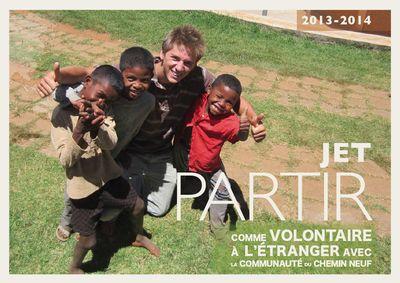JET : Volontariat International — Communauté du Chemin Neuf