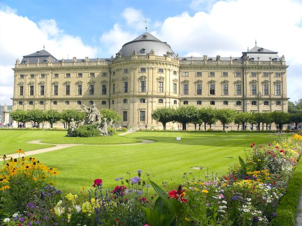 Bavarian Palaces: Würzburg Residenz in southern Germany
