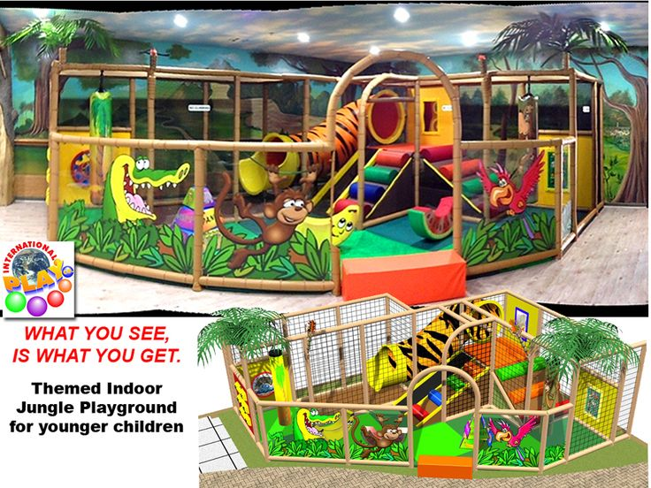 Toddler Play area. We design, manufacture and install.  All custom to fit your area size and budget. Contact us at sales@iplayco.com - #weBUILDfun