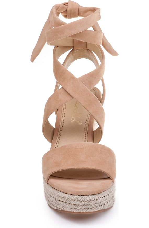 6e30287e808 Splendid Tessie Ankle Wrap Wedge Sandal (Women) | Nordstrom | Kengät ...